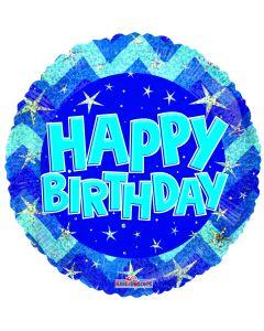 "18"" Birthday Sparkles Blue"