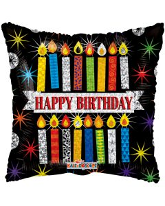 "18"" Birthday Stars & Candles"