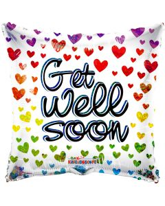 "18"" Get Well Hearts"