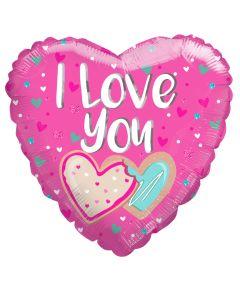 """18"""" Pink Love Cookies"""