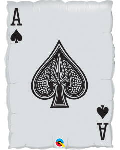 """30""""Queen Of Hearts Ace Of Spades"""