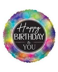 """18"""" Birthday Multicolor"""