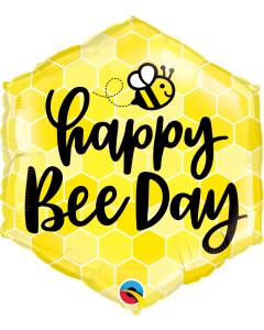 "20"" Happy Bee Day Pkg"