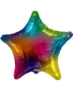 """18"""" Multi-Color Star"""