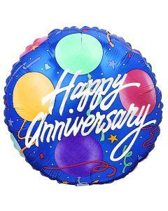 "18"" Anniversary Balloons  Pkg"