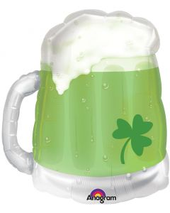 "23"" St. Pat's Green Beer Mug"