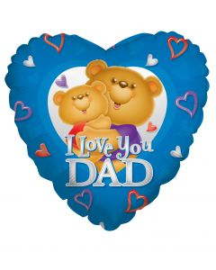 "18"" Love Dad Bears"