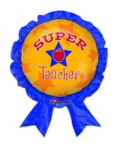 "30"" Super Teacher Award Ribbon"