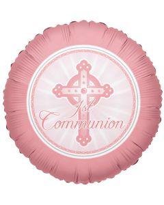 "18"" 1st Communion Pink"