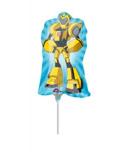 "14"" Transformers Bumble Bee Inflated with Cup & Stick"