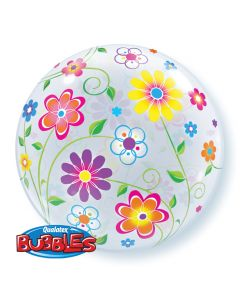 "22"" Spring Floral Patterns Bubble"