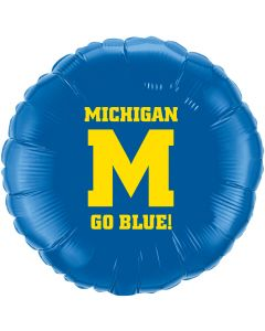 "18"" Michigan Go Blue"