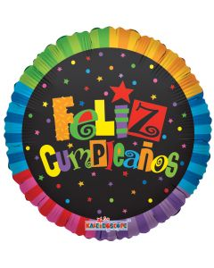 "18"" Feliz Cumpleanos Jazzy"