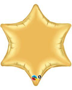 "22"" Star of David Gold--"