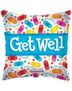 "18"" Get Well Band-Aids"
