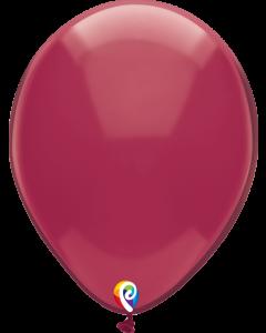 "12"" Crystal Burgundy 50ct"