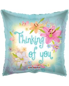 "18"" Thinking Of You Spring Flowers"