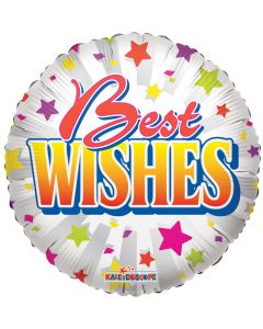"18"" Best Wishes Stars"