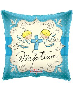 "18"" Cute Angels Baptism Boy"