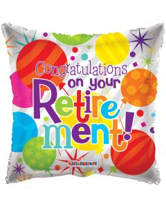 """18"""" Retirement Congrats!"""