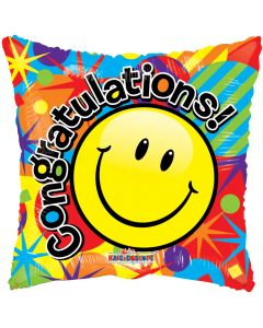 """18"""" Smiley Congrats Gellibean"""