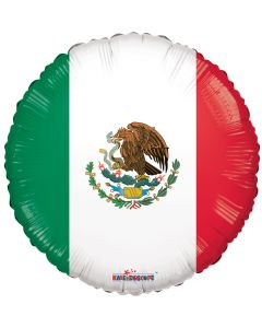 "18"" Mexican Flag"