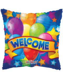 "18"" Welcome Banner & Balloons"
