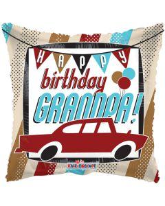 """18"""" Happy B'day Grandpa"""