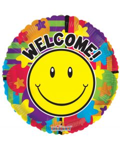 """18"""" Smiley Welcome! Gellibean"""