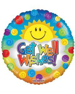 "9"" Get Well Sunshine"