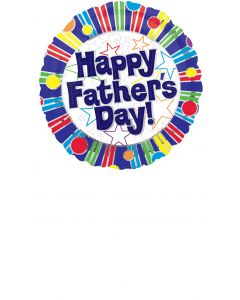 """18"""" Father's Day Stripes & Dot"""