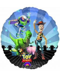 """9"""" Toy Story Gang- Inflated with Cup & Stick"""
