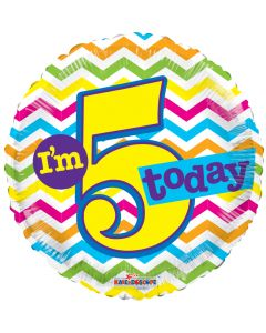 """18"""" I'm 5 Today!"""