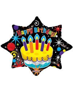 """28"""" Birthday Starburst"""