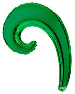 "14"" Kurly Wave Green"