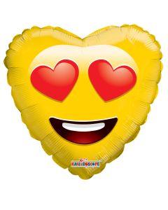 """18"""" Smiley In Love"""