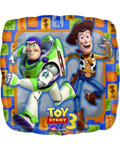 "9"" Toy Story 3 Group Inflated with Cup & Stick"
