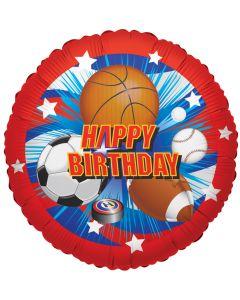 """18""""Birthday Sports"""