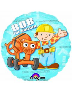 "9"" Bob The Builder Inflated with Cup & Stick"