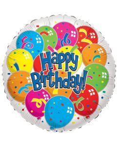 "18""B'day Balloons"