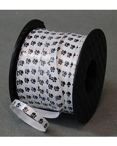 "3/16"" Paw Prints Ribbon 250yds"