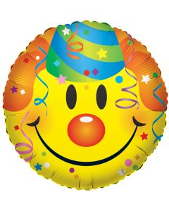 """18""""Smiley With Party"""