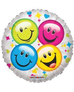 """18"""" Four Smileys"""