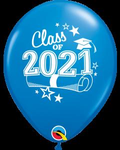 "11"" Class of 2021 Dark Blue 50ct"