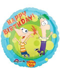 "18"" Phineas & Ferb Birthday"