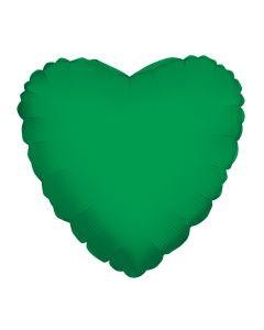 """18"""" Green Heart"""