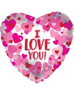 "18"" Pearl Hearts Love"
