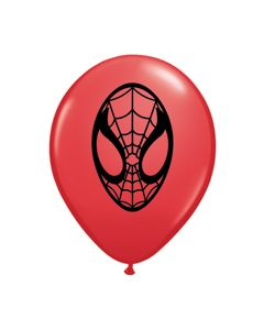 "5"" Spider-Man Red  100ct"