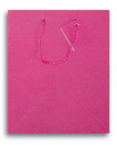 "9.75""X 7.5"" Hot Pink Gift Bag"