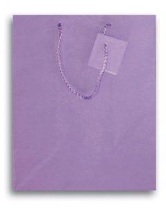 """9.75""""X 7.5"""" Lavender Gift Bag"""